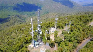 Mt Archer DSTAR repeater site in Rockhampton